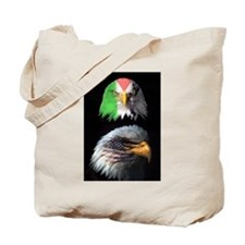 Eagles of USA & Palestine Solidarity Eagle Tote Ba
