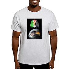 Eagles of USA & Palestine Solidarity Eagle T-Shirt