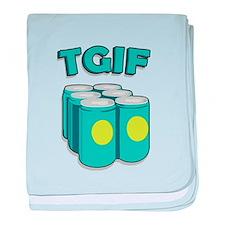 TGIF baby blanket