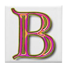 The Letter B Tile Coaster
