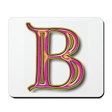 The Letter B Mousepad