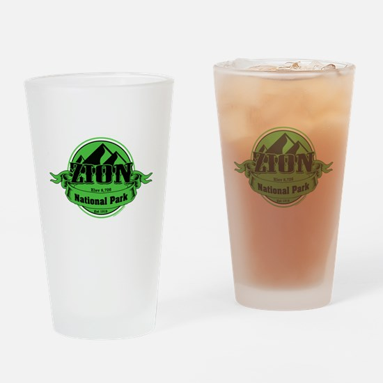 zion 5 Drinking Glass