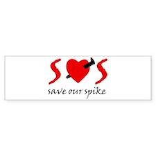 SOS Bumper Bumper Sticker