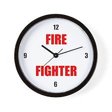 Wall Clock - Fire Fighter
