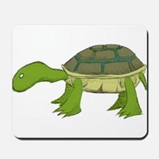 White Eyed Turtle Mousepad