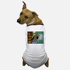 Rasta Alien - I Dig This Planet Dog T-Shirt