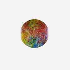Swirlies Mini Button