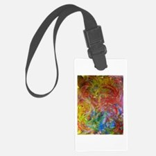 Swirlies Luggage Tag