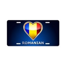 ROmania Aluminum License Plate