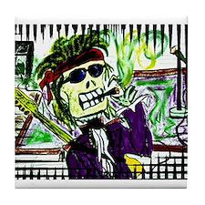 Rock 'n Bones Tile Coaster