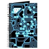Circuit board Journals & Spiral Notebooks