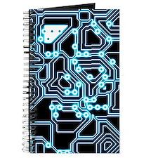 ElecTRON - Blue/Black Journal
