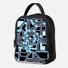 ElecTRON - Blue/Black Neoprene Lunch Bag
