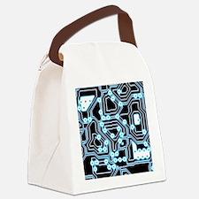ElecTRON - Blue/Black Canvas Lunch Bag