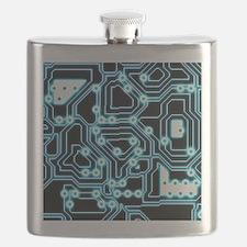 ElecTRON - Blue/Black Flask