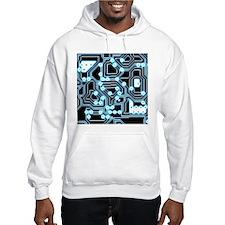 ElecTRON - Blue/Black Hoodie Sweatshirt