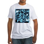 ElecTRON - Blue/Black Fitted T-Shirt