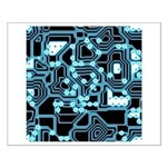 ElecTRON - Blue/Black Small Poster