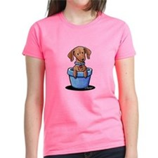 KiniArt Potted Doxie Tee