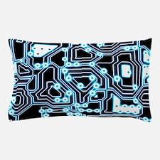ElecTRON - Blue/Black Pillow Case