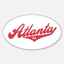 Atlanta GA Oval Decal