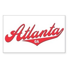 Atlanta GA Rectangle Decal