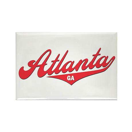 Atlanta GA Rectangle Magnet (10 pack)