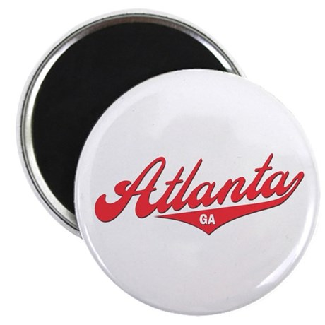 "Atlanta GA 2.25"" Magnet (100 pack)"