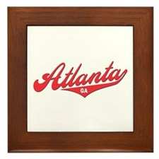 Atlanta GA Framed Tile