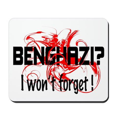 Forget Benghazi? Mousepad