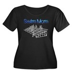 Swim Mom Plus Size T-Shirt