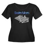 Swim Mom Plus Size T-Shirt