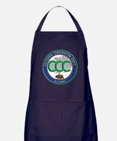 Alumni blue/green Apron (dark)