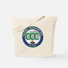 Alumni blue/green Tote Bag