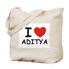 I love Aditya Tote Bag
