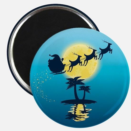 Tropical Christmas Magnet