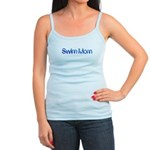 Swim mom waterdrop Tank Top