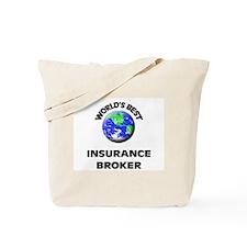 World's Best Insurance Broker Tote Bag