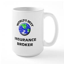 World's Best Insurance Broker Mug