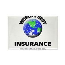 World's Best Insurance Broker Rectangle Magnet
