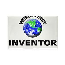 World's Best Inventor Rectangle Magnet