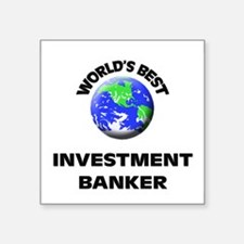 World's Best Investment Banker Sticker
