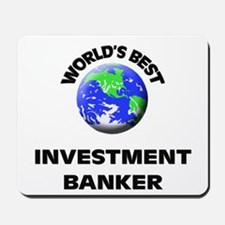 World's Best Investment Banker Mousepad