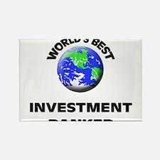 World's Best Investment Banker Rectangle Magnet