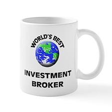 World's Best Investment Broker Mug