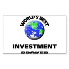 World's Best Investment Broker Decal