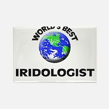 World's Best Iridologist Rectangle Magnet
