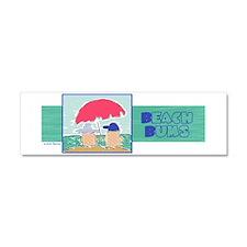 Beach Bums Car Magnet 10 x 3