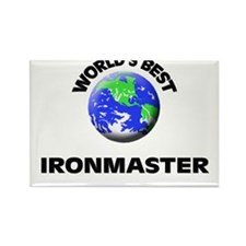 World's Best Ironmaster Rectangle Magnet