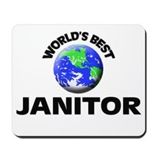 World's Best Janitor Mousepad